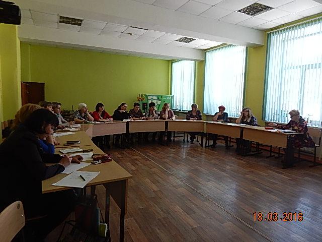 Встреча начальника МКУ УО с председателями первичных профсоюзных организаций